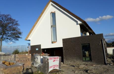 Nieuwbouw bungalow familie Maaskant te Rhoon.